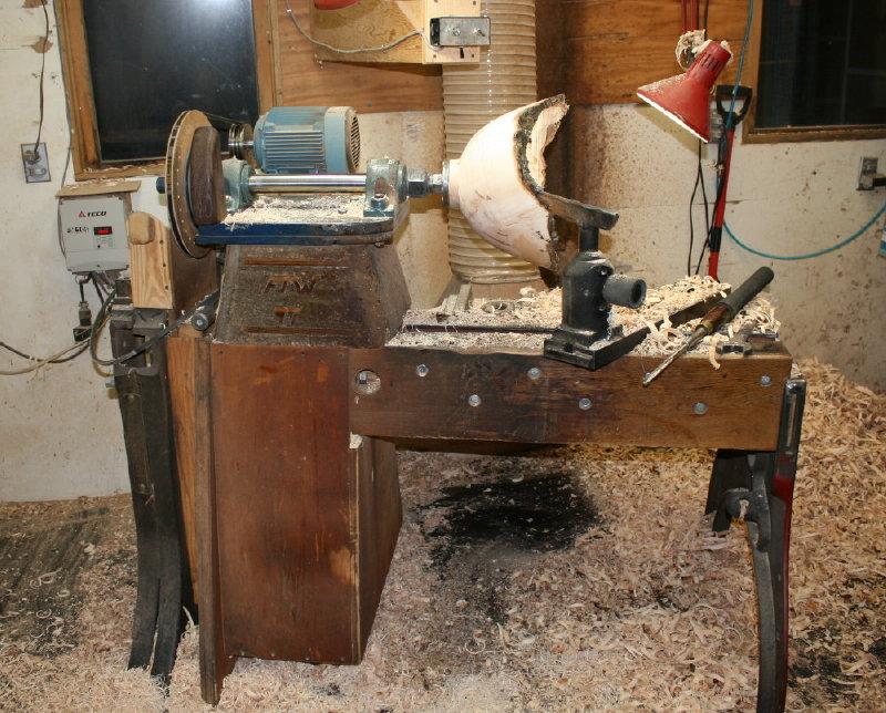 Homemade Lathe Wood 110